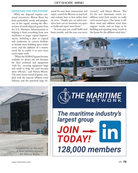 MN Nov-19#75 OFFSHORE WIND INVESTING FOR THE FUTURE mand for new boat