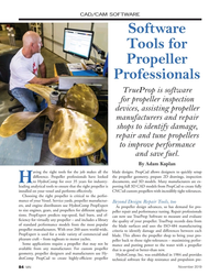 MN Nov-19#84 CAD/CAM SOFTWARE Software  Tools for  Propeller  Professiona
