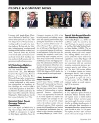 MN Dec-19#54 PEOPLE & COMPANY NEWS Wong  Middendorf  Pyne, Chao, Mathur