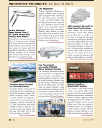 MN Dec-19#56 INNOVATIVE PRODUCTS: the Best of 2019 The Way? nder