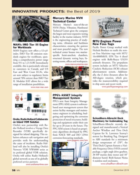 MN Dec-19#58  the Best of 2019 Mercury Marine NVH  Technical Center