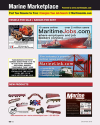 MN Dec-19#60 Powered by www.maritimejobs.com Marine Marketplace Post Your