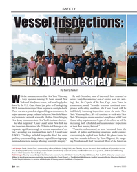 MN Jan-20#28 SAFETY  Vessel Inspections: Vessel Inspections:  It's All