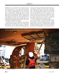 MN Jan-20#30 SAFETY  Subchapter M were modeled on the inspection