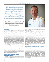 "MN Jan-20#36 OFFSHORE WIND ""The Massachusetts Maritime  Academy has"