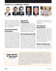 MN Jan-20#54 PEOPLE & COMPANY NEWS Volvo Penta of the Americas  Hägg