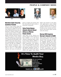 MN Jan-20#57 PEOPLE & COMPANY NEWS U.S. Merchant Marine Academy Blount