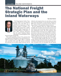 MN Mar-20#22  and the  Inland Waterways By James Kearns The Fixing America's