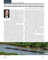 MN May-20#22  INLAND WATERWAYS 	     By James Kearns, Special Counsel