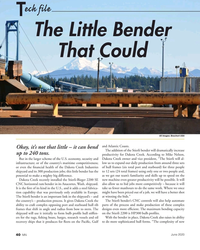MN Jun-20#40  of the Stierli bender will dramatically increase  up to