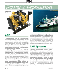 MN Aug-20#28  becoming a reality in the United States. ships employ ABB's
