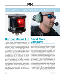 MN Aug-20#58 one hundred Comms, Controls & Electronics Britmar  Britmar