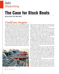 MN Sep-21#22 OpEd   Shipbuilding  The Case for Stock Boats  By Chris