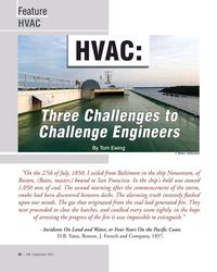 MN Sep-21#30 Feature HVAC HVAC:   Three Challenges to  Challenge