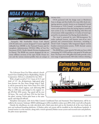MN Sep-21#41 Vessels NOAA Patrol Boat NOAA OLE. OCM partnered with the