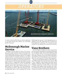 MN Oct-21#54 M N 0 0 1 OPERATORS MCDONOUGH MARINE SERVICE of vessels is