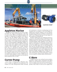 MN Oct-21#62 M N 0 0 1 APPLETON MARINE CARVER PUMP and commitment to