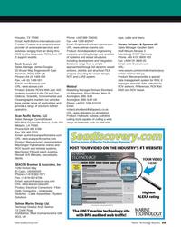 MT Apr-05#59 , ROV and LARS system. Webtool  Marketing Manager Richard