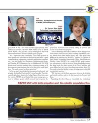 MT Mar-13#37  Division Newport  Right Dr. Theresa Baus, Head, Technology Partnershi