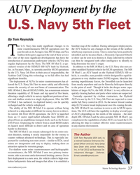 MT Oct-13#37 The U.S. Navy has made signiÞ cant changes to its  mine