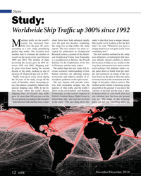 MT Nov-14#12   Worldwide Ship Traf   c up 300% since 1992 aritime