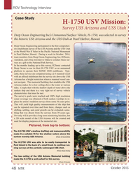 MT Oct-15#48  USV Mission:  Survey USS Arizona and USS Utah Deep Ocean
