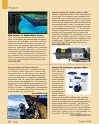 MT Oct-15#62  for ROVs Allspeeds launched Webtool ROV cutting tools designed