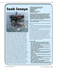 MT Jul-16#29  Saab Seaeye vehicle range  • Falcon – Portable system for