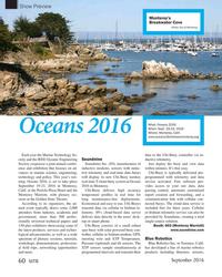 MT Sep-16#60  Monterey, Calif. www.oceans16mtsieeemonterey.org Each year the