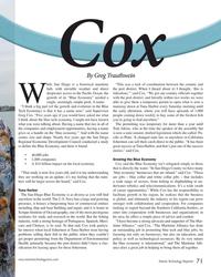 MT Mar-17#71 Cox    By Greg Trauthwein hile San Diego is a historical