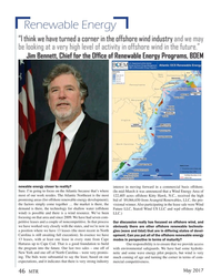 MT May-17#46  Wind US LLC and wpd offshore Alpha  wind) is possible and