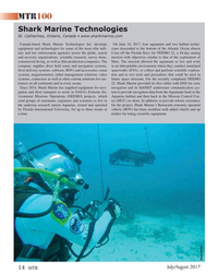 MT Jul-17#14  globe, search  6 km off the Florida Keys for NEEMO 22, a