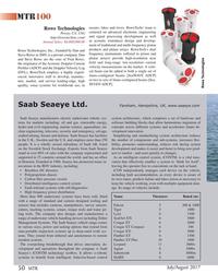 MT Jul-17#50  manipulators, survey sensors,  Falcon  5 300 & 1000 cutters