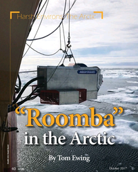"""MT Oct-17#40 Harsh Environs: The Arctic """"Roomba""""""""Roomba"""" in the Arcticin"""