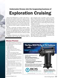 MT Oct-17#49 Underwater Drones Join the burgeoning business of Exploratio
