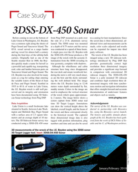 MT Jan-18#48 Case Study 3DSS-DX-450 Sonar Before coming to rest at the