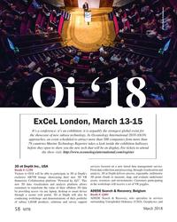 MT Mar-18#58  Unexploded Ordnance (UXO), Geophysics and  March 2018 58