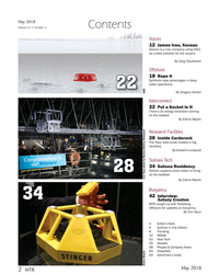 MT May-18#2  models in big  facilities. By Edward Lundquist Subsea Tech