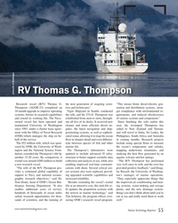 MT May-18#55 Vessels RV Thomas G. Thompson University of Washingon Resear