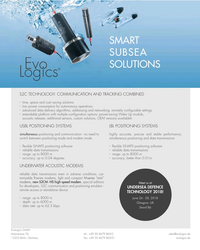 MT May-18#3rd Cover SMART SUBSEA SOLUTIONS S2C TECHNOLOGY: COMMUNICATION AND