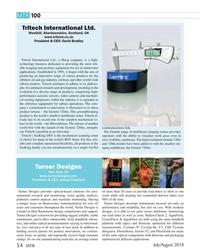 MT Jul-18#54 MTR 10 0 Tritech International Ltd. Westhill, Aberdeenshire