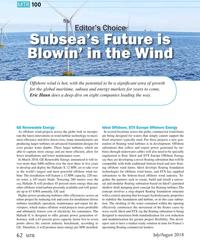MT Jul-18#62 MTR 10 0 MTR 10 0 Editor's ChoiceEditor's Choice Subsea's