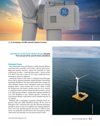 MT Jul-18#63 GE is developing a 12 MW capacity Haliade-X turbine Ideol