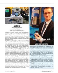 MT Jul-18#73 AXSUB Rimouski, QC, Canada www.axsub.com CEO/President: