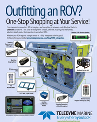 MT Jul-18#4th Cover Out?tting an ROV? One-Stop Shopping at Your Service! From