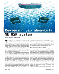 MT Sep-18#18 Reviewing Sapinhoá-Lula  Image: Subsea 7 NE BSR system By