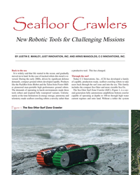 MT Sep-18#30 Seafloor Crawlers New Robotic Tools for Challenging