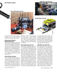 MT Sep-18#57 JFSE Ultra Low Draft Tool Blue Robotics Gripper New Cable