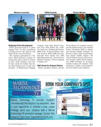MT Sep-18#61  depth re- presented  to Mediterranean Shipping  Marine geospatial