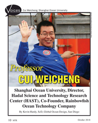 MT Oct-18#10 Cui Weicheng, Shanghai Ocean University oices Image: